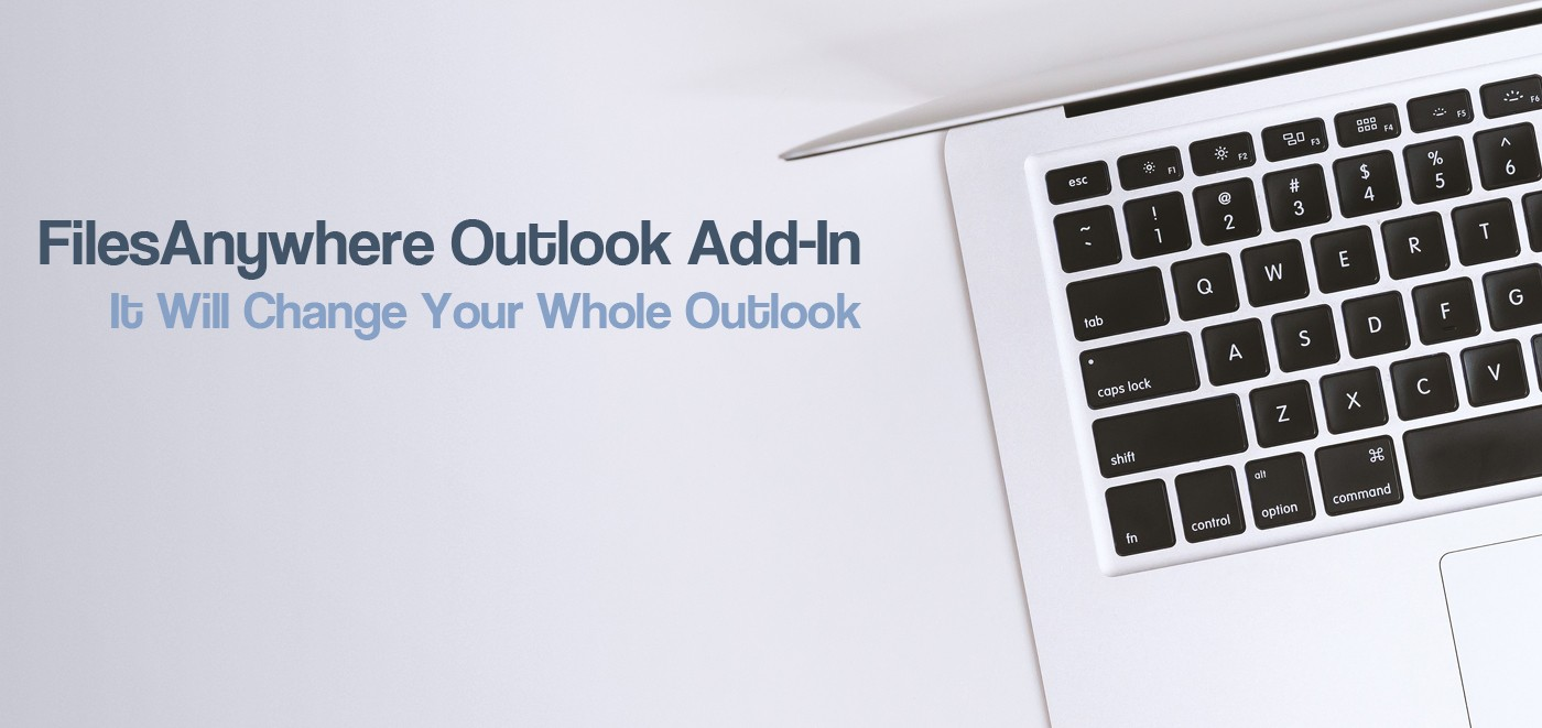FilesAnywhere Outlook Add-In